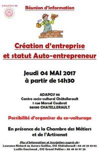 Association d partementale pour l 39 accueil et la promotion - Chambre des metiers inscription auto entrepreneur ...